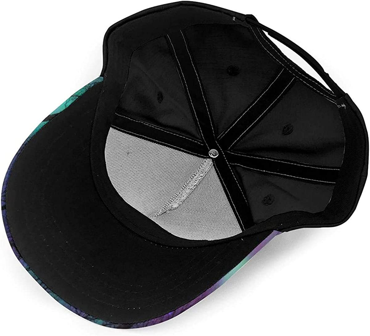 The Northern Lights Aurora Polar Light Lightweight Unisex Baseball Caps Adjustable Breathable Sun Hat for Sport Outdoor