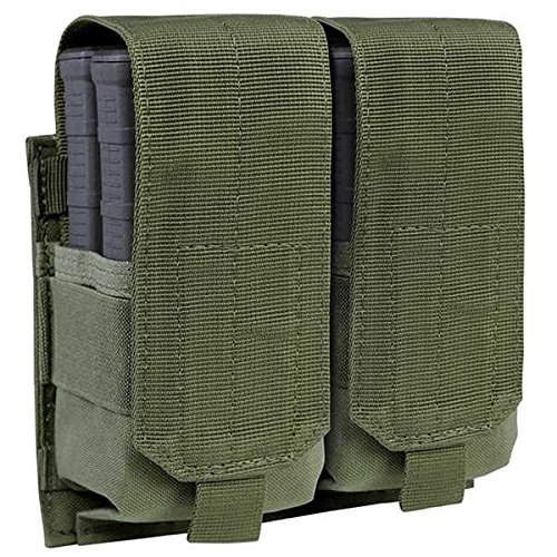 CONDOR DOUBLE M14 MAG POUCH, OD (M14 Mag Pouches)