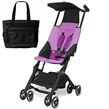 GOODBABY GB 616230018 Pockit carrito con - bolsa de pañales, color rosa: Amazon.es: Bebé