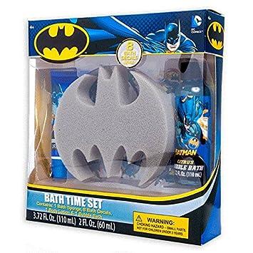 Amazon com : New DC Comics Batman Bath Time Set Bubble Bath