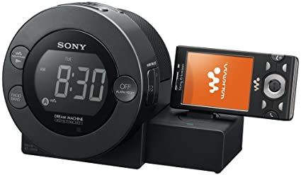 Sony ICFC8WM Reloj Digital Negro - Radio (Reloj, Digital, 87,5-