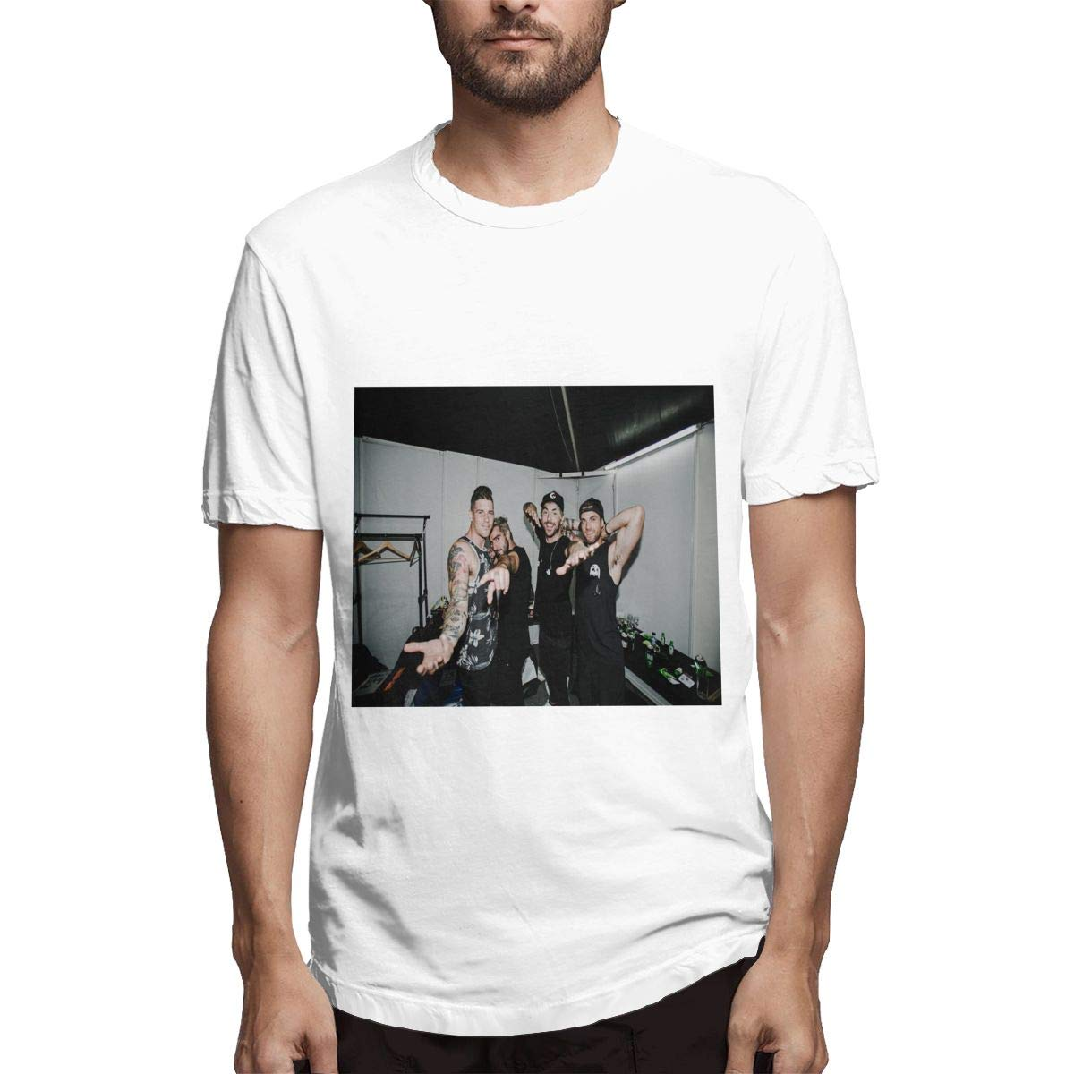 Lihehen S All Time Low Band Fashion Leisure Round Neck T Shirts