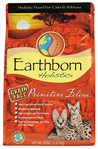 Earthborn Integral Primitive Feline, Comida para gatos - 2,73 kg: Amazon.es: Hogar