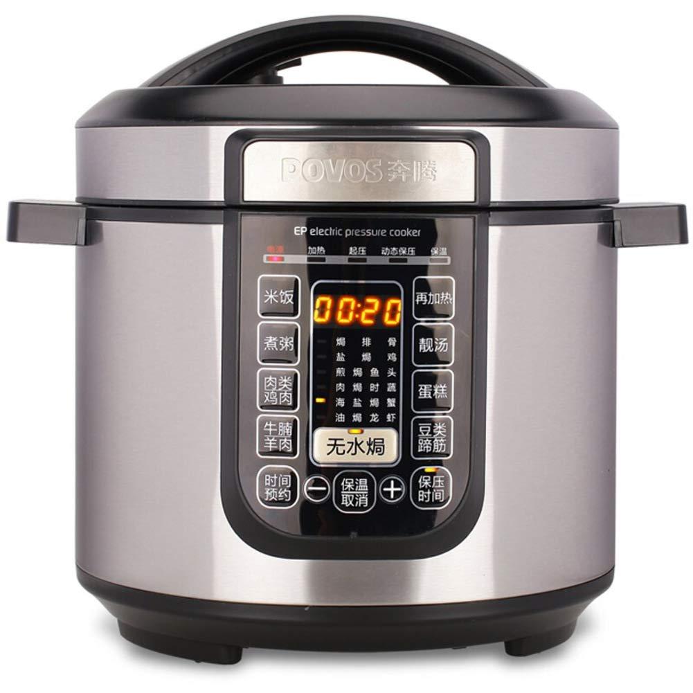 電気炊飯器,圧力鍋 8 L 大容量多機能インテリジェント予定電気圧力炊飯器蒸し器   B07H5LJCPV
