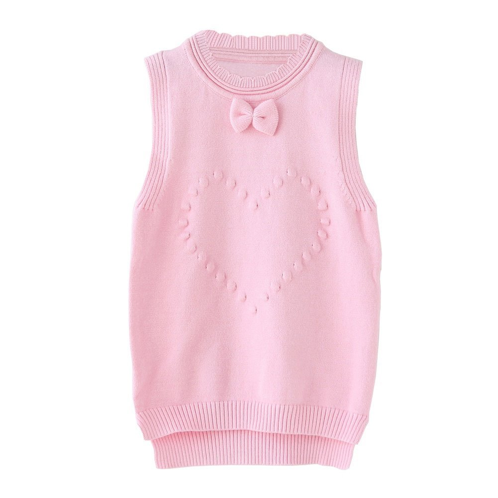 ZHUANNIAN Baby Girls Sleeveless Sweater Vest