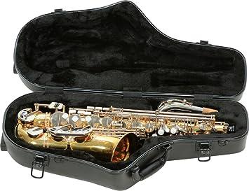 SKB 1SKB-440 - Maleta contorneada para saxo alto pro: Amazon ...