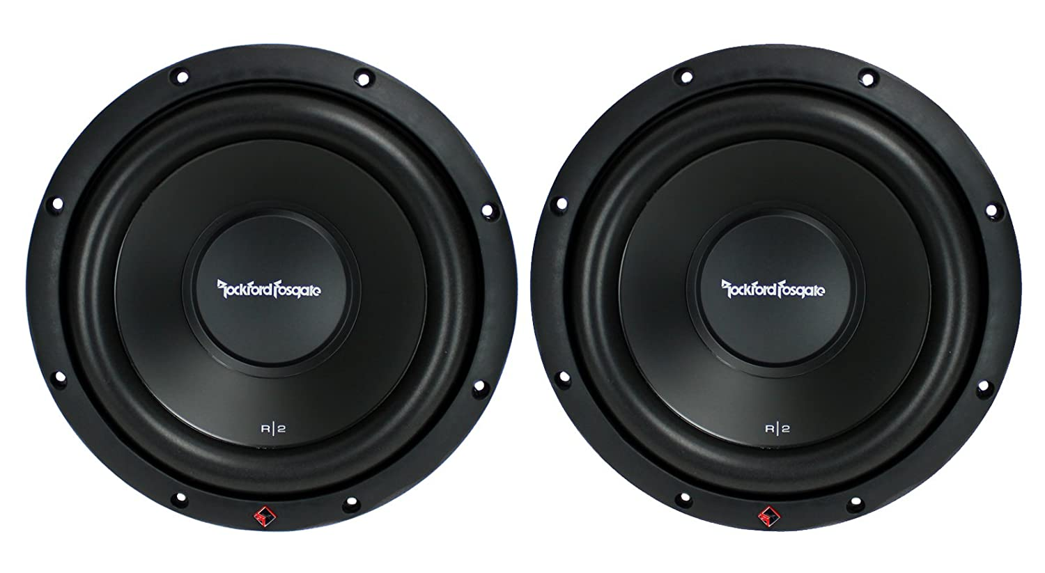 2 New Rockford Fosgate R2d2 10 1000w Ohm Car Inch Sub Wiring Diagram Audio Subwoofers Subs R2d210 Electronics