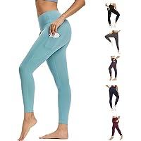 WOWENY Leggings Deporte Mujer,Leggins para Damas Pantalones Deportivos Largos para Training Running Yoga Fitness…