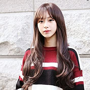 Amazon Com Korean Girls Wig Women Girls Female Long Hair