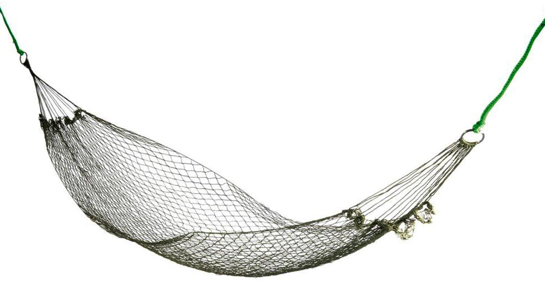 UK Garden Net Hang Rope Hammock Mesh Travel Beach Camping Travel Swing Sleep Bed