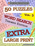 img - for EXTRA LARGE PRINT Word Search Puzzles - Volume 3 (GRAY MATTER EXTRA LARGE PRINT) book / textbook / text book