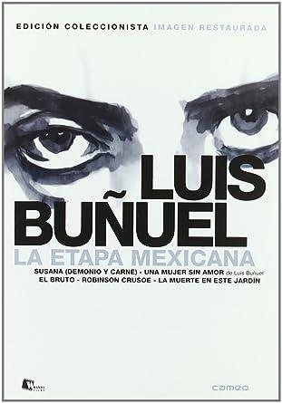 Pack: Luis Buñuel - La Etapa Mexicana Incluye 5 Películas DVD ...