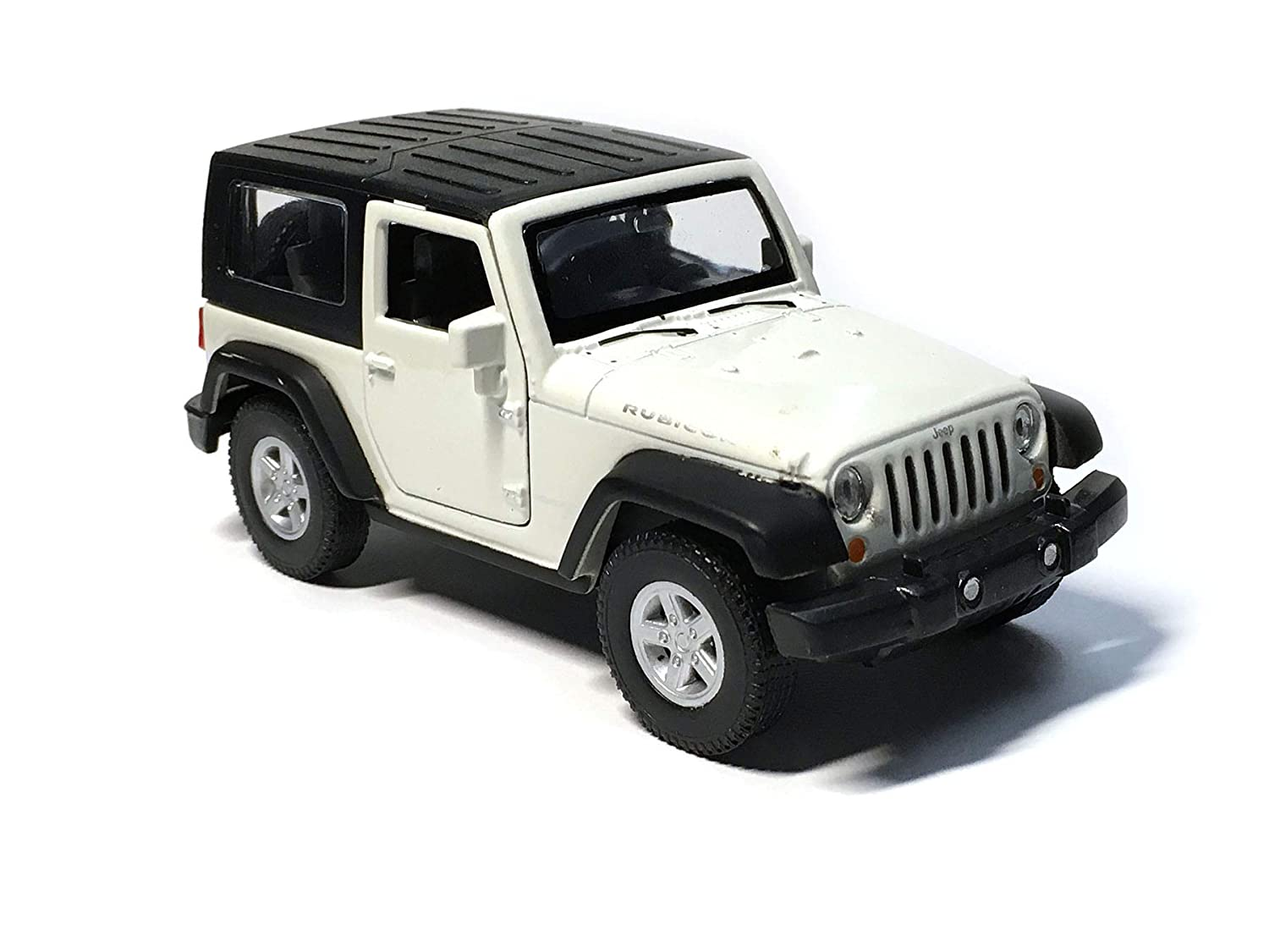 Jeep New Model >> Hck Jeep Wrangler Rubicon 4 25 Inch New Exploration Diecast Model Toy Car White