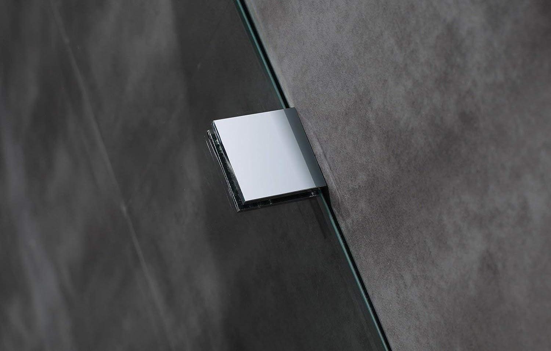 Aston - Caja de ducha con base (36 x 36 x 77.5 pulgadas, ángulo ...