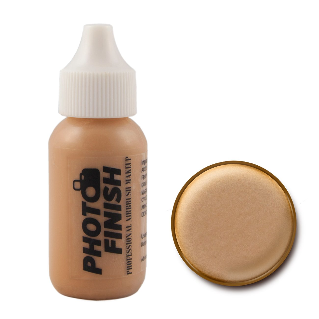 Photo Finish Airbrush Makeup - Foundation-1.0 Oz Cosmetic Face- Choose Color (Medium Beige Matte)
