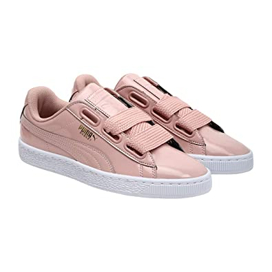 new arrival e8a9d fcae9 Puma Women's Basket Heart Patent Wn S Sneakers