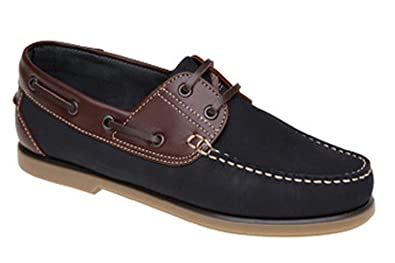 MENS DEK LEATHER TAN BROWN DECK BOAT LOAFERS SHOES SLIP-ON SIZE 7,8,9,10,11,12