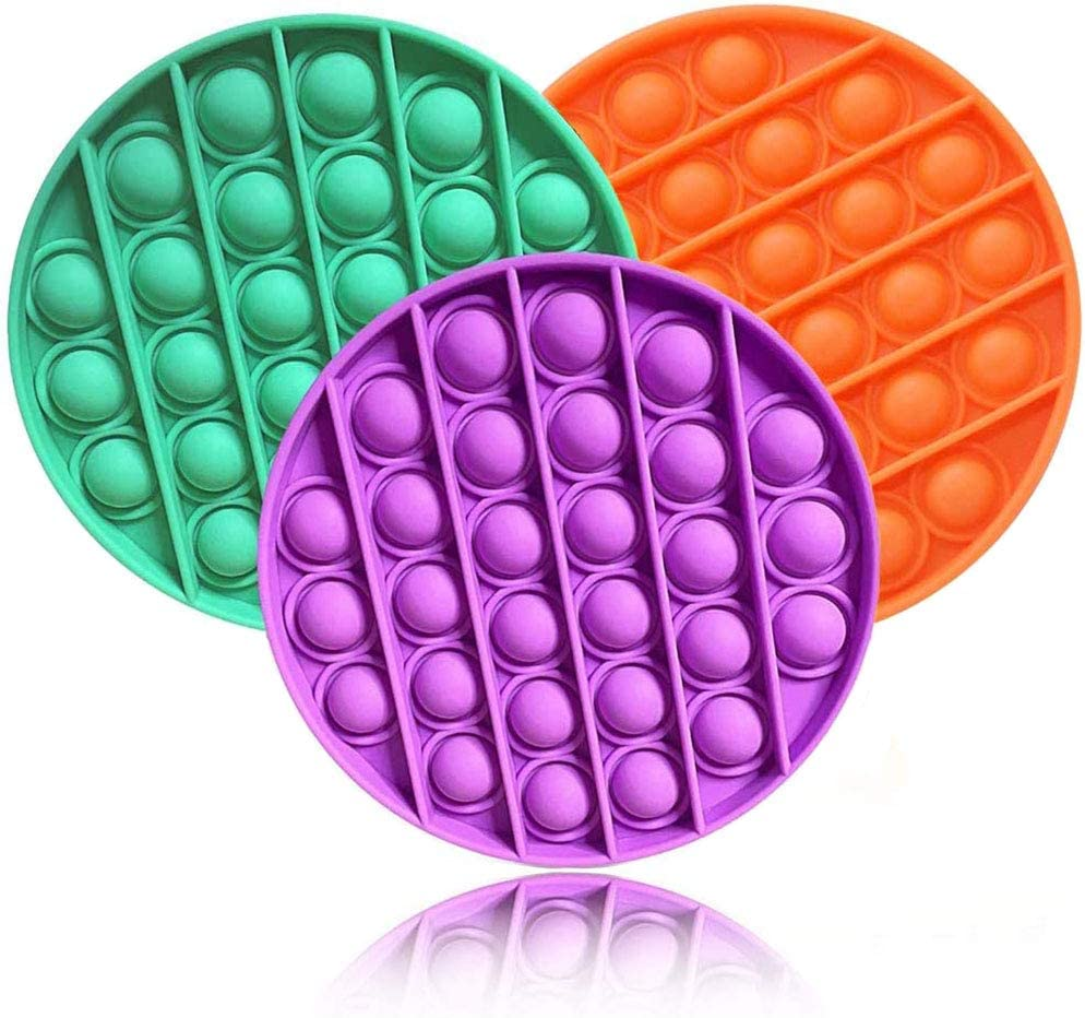 Autism Special Needs Stress Reliever Silicone Squeeze Toy N\C Bubble Sensory Fidget Toy A Great Way to Relax and Keep Busy for Kids and Adults
