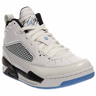 timeless design 13119 f9933 Amazon.com   Nike Jordan Flight 9.5 (BG) 654975-127 Basketball Shoes 3.5 M  US Big Kid White   Legend Blue   Black   Shoes