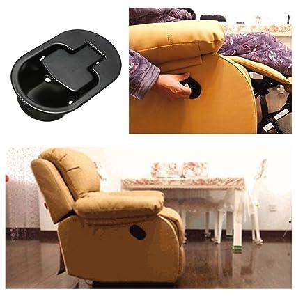 Repuesto para sillón o sofá reclinable, palanca de metal, 2 piezas