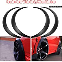 Ruien Universal Fender Flares Over Wide Body Wheel Arches 4pcs 3.5inch (90mm)