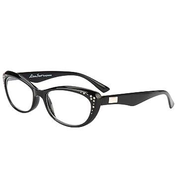 59aa2def7d38 LianSan Fashion Brand Women Reading Glasses Cat Eye Reading Eyeglasses with  Rhinestones L3705X (+1.50