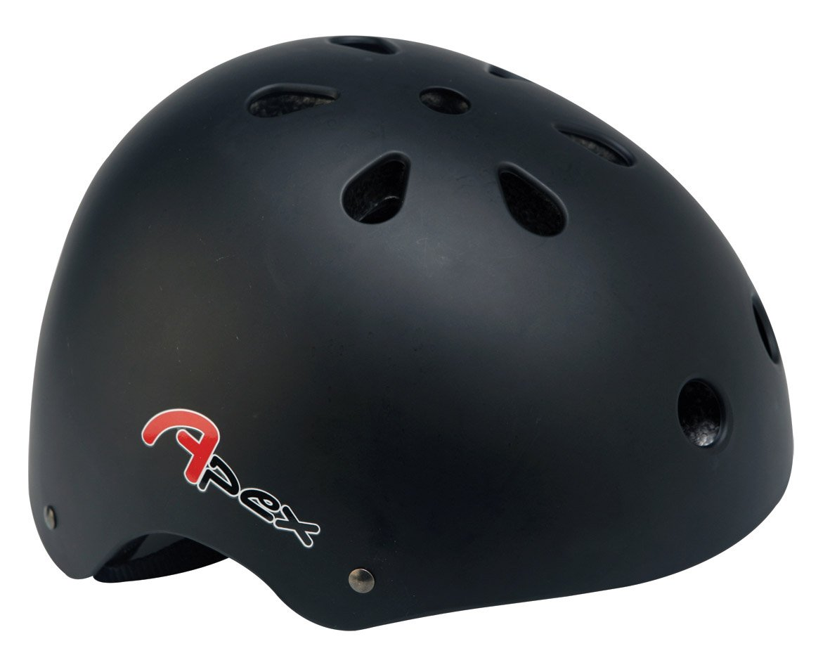 Apex BMXヘルメット - マットブラック、58-61 cm   B000XZ1EM0