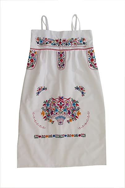 7e0b32bbb52 Mexican Clothing Co Womens Mexican Dress Traditional Strap-Strapless  Sundress P CT X-Large