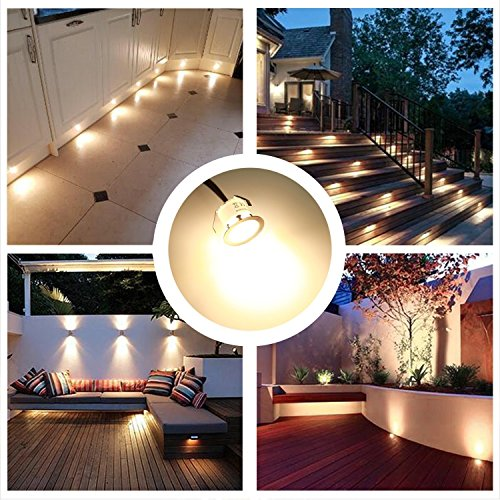 Recessed LED Deck Lighting Kits 12V Low Voltage Warm White