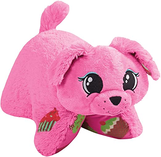 Amazon Com Pillow Pets Pupcake Sweet Scented Pets 16 Pink Home Kitchen