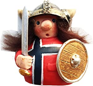 3D Viking Pirate Norway Fridge Magnet Souvenir Gift Home Kitchen Decoration Magnetic Sticker Norway Refrigerator Magnet Collection