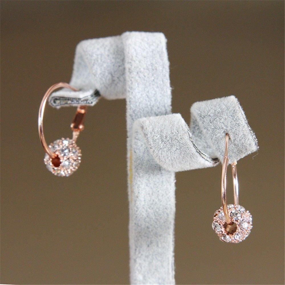 Ling Studs Earrings Hypoallergenic Cartilage Ear Piercing Simple Fashion Earrings Ear Jewelry Summer Pendant Stud Earrings, White