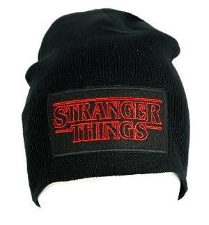 Stranger Things Beanie Alternative Style Clothing Knit Cap Supernatural Horror Sci Fi