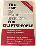 The Law (in Plain English) for Craftspeople, Leonard D. DuBoff, 0880890037