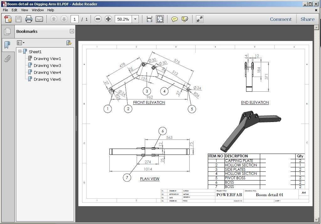 360 slew Mini digger design, plans for towable backhoe
