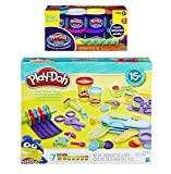Play-Doh Toolin Around Playset + Play-Doh Plus Compound Bundle