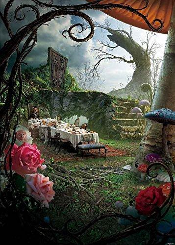 GladsBuy Dinner In Wonderland 5' x 7' Digital