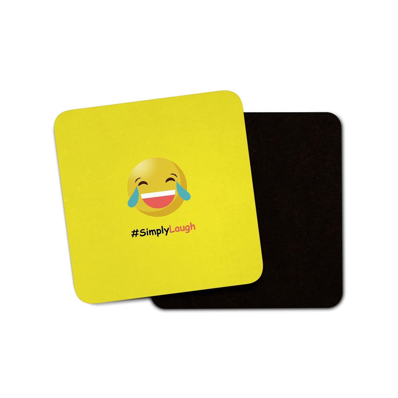 Simply Laugh Emoji - Imán para Frigorífico/Whiteboard/Memo ...