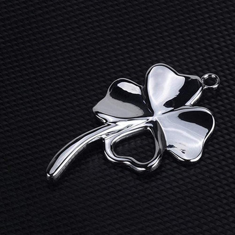 car hanging ornament BSTTAI Car rearview mirror pendant car accessories decoration lucky charm ornament for driver gift four leaf clover lucky charms car mirror