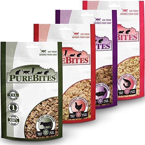 PureBites Cat Treats (SAMPLER 4 PACK)