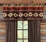 Desert Horizon Southwest Rustic Valance - Lodge Bedding Decor