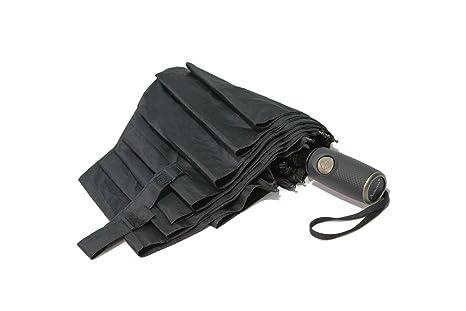 AURUMA Premium paraguas plegables, apertura y cierre automático, compacto y antiviento, paraguas de