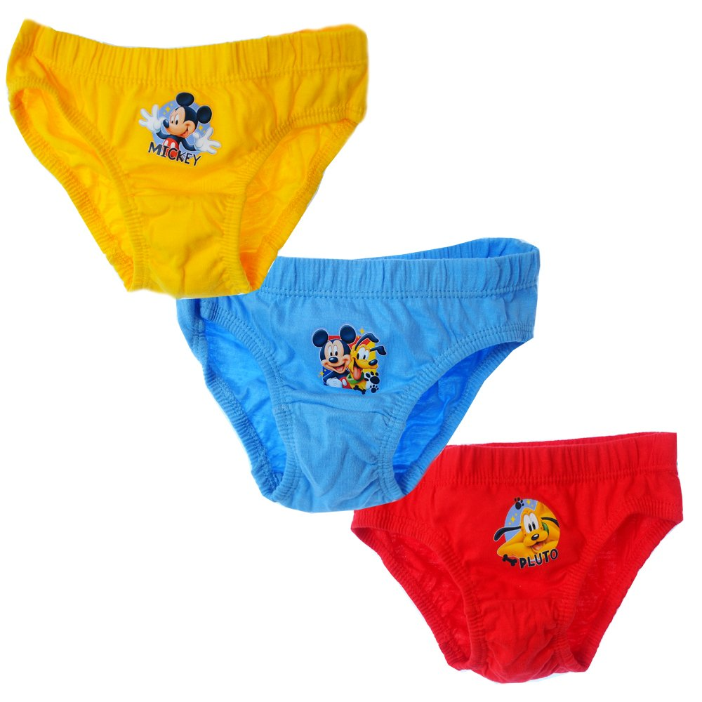 Kinder Unterhose Slips Mickey Mouse 3er SET 80 - 110 Höschen