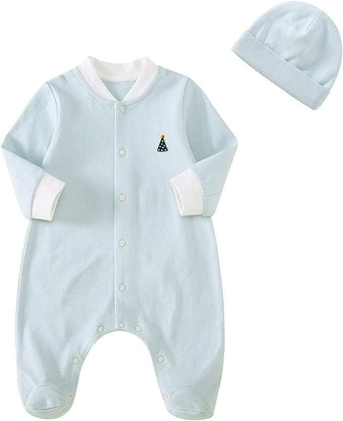 Cnfoldjfong S Says Hi to T Long Sleeve Baby Romper