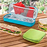 tupperware lunch box bo te pour sandwich blanc cuisine maison. Black Bedroom Furniture Sets. Home Design Ideas