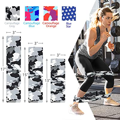 LT Fit Legs Hip Training Cloth Fabric Booty Bands Set Resistance Loop Fitness