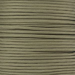 PARACORD PLANET 550 Cord Type III 7 Strand Paracord 10 Foot Hank - Khaki