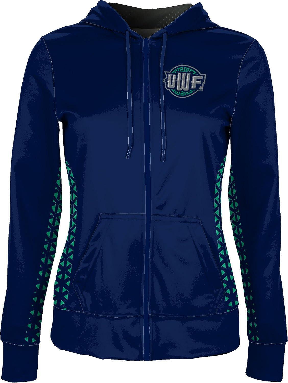 School Spirit Sweatshirt ProSphere University of West Florida Girls Zipper Hoodie Geometric