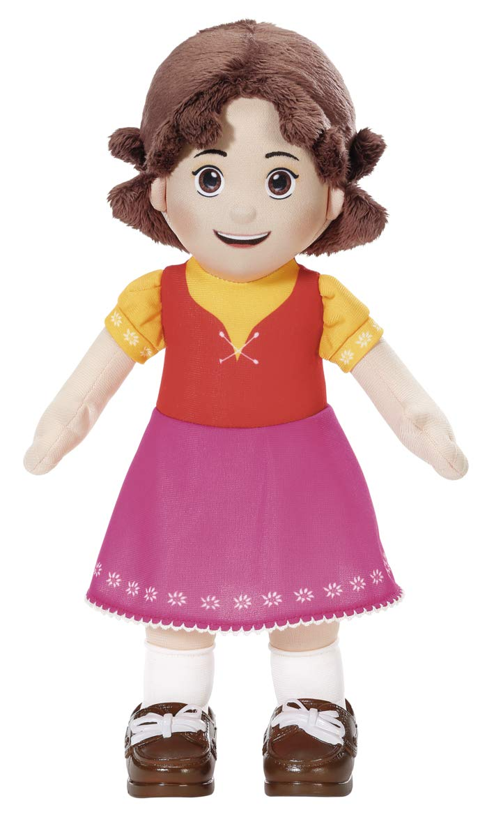 Zapf Creation Kuschelpuppe 601600 Soft Cuddly Doll from The Cult Series Heidi, 30 cm, Colourful