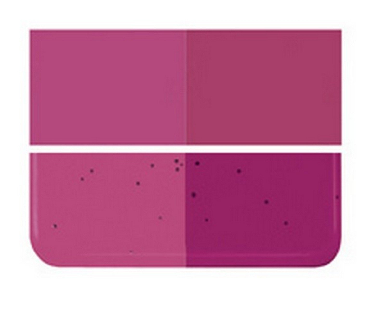 Fusible/Stained Glass 90coe Tested Compatible :: Bullseye Fuschia Dbl-roll FUS :: (1-8'' X 10'' Piece) By Stallings Stained Glass